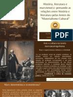 História, Literatura e Marxismo(s) - Aula I
