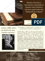 História, Literatura e Marxismo(s) - Aula II