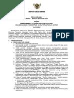 Pengumuman CPNS 2021 tanah datar