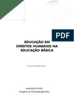 EDUCAÇÃO EM DIREITOS HUMANOS NA EDUCAÇÃO BÁSICA