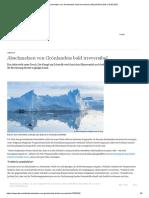 Abschmelzen von Grönlandeis bald irreversibel _ Aktuell Welt _ DW _ 18.05.2021
