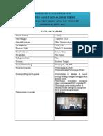 Catatan Mandiri Oklin Oentowe Aso f22117104
