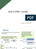 Serie 6 STRM Corrigé OUAZAR