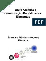 Tema I- Estrutura Atómica e Classificacao Periódica Dos Elementos