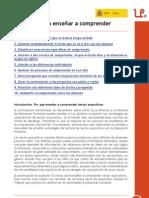 «10 claves para enseñar a comprender», en leer.es