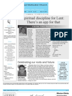 Newsletter - March 18, 2011