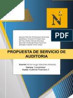 Propuesta de Servicios Auditoria