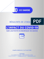 Synthese Resultats Enquete Covid