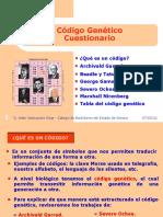 3. Código genético