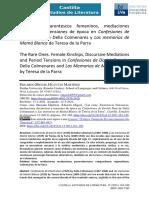 Las Raras. Parentescos Femeninos, Mediaciones Discursivas y Tensiones de Época en Confesiones de Dorish Dam de Delia Colmenares