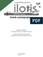 Guide pédagogique pilotis