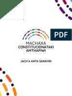 AYMARA - Manual Convención Constitucional