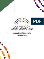 QUECHUA - Manual Convención Constitucional