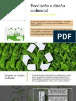 Ecodiseño o diseño ambiental