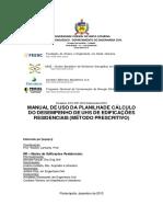 Manual Para Preenchimento Da Planilha Da Uh 20132
