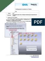 DT - Configuração de Materiais na Toolbox SW09