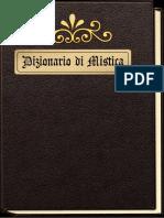 Dizionario Di Teologia Mistica