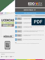 Moìdulos de Expedicioìn y Renovacioìn de Licencias de Conducir de Servicio Puìblicopdf