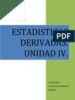 ESTADISTICA I-UNIDAD IV