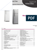 Manual de Serviços Refrigerador Frost Free DF36A /DF36X