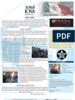 IFM Spring Newsletter 2011