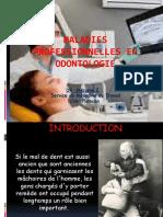 Dentaire Et Risques Professionelles Odontologie