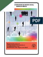 Reglamento para el Otorgamiento de Licencias e Incapacidades a los Beneficiarios del Seguro de Salud 2014