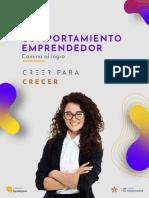Cartilla de Comportamiento Emprendedor