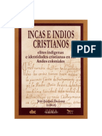 Los Incas e Indios Cristianos