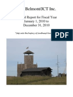 Fort Belmont Annual Report 2010