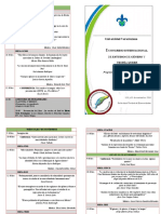 Programa del I Congreso Internacional de Estudios de Género y Teoría Queer