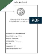 10022- Programa Psicologia Evolutiva 1 2011