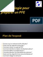 Préparation PFE