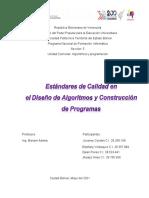 T1_PNFI_S5_ ALGORITMICA Y PROGRAMACION_ UNIDAD II_ Estándares de Calidad en El Diseño de Algoritmos y Construcción de Programas_Taller Grupal