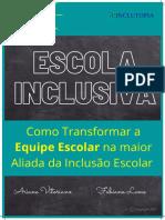 Ebook Educação Inclusiva - Esquipe Escolar