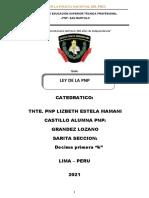 LEY DE LA PNP
