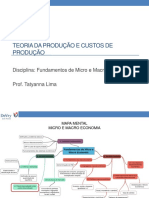 5. Teoria Da Produção e Custos de Produção