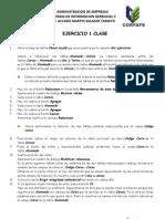 SISTEMAS DE INFORMACION GERENCIAL II - Taller 2  ACCESS