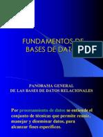 fundamentos de bases de datos