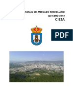 CIEZA-Informe Municipal 2012