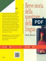 Breve Storia Della Questione Della Lingu