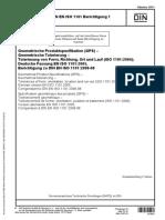 DIN en ISO 1101 Berichtigung 1 2011-10-01