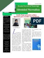 Boletín Identidad Normalista No. 4