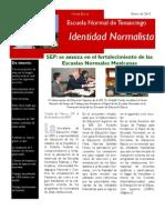 Boletín Identidad Normalista No. 5