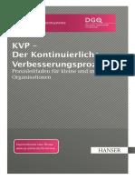 KVP-Praxisleitfaden Vom DGQ