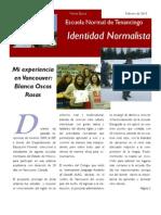 Boletín Identidad Normalista No. 6