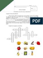 prueba partes de la casa y frutas