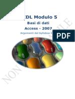 Access 2007 Appunti
