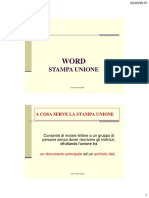 Appunti STAMPA UNIONE word 2007