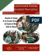 Boletín Identidad Normalista No. 9